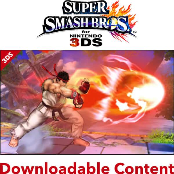 Super Smash Bros. for Nintendo 3DS - Ryu & Suzaku Castle Stage DLC