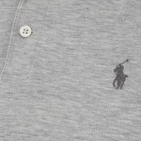 Polo Ralph Lauren Men\u0027s Slim-Fit Polo Shirt - Light Grey Heather: Image 3