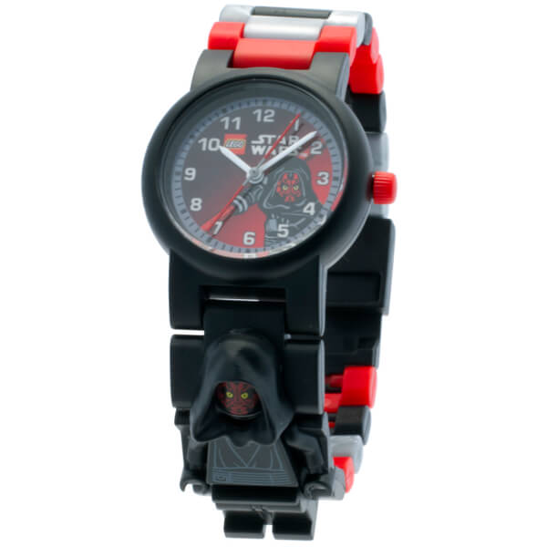 LEGO Star Wars Darth Maul Mini Figure Link Watch