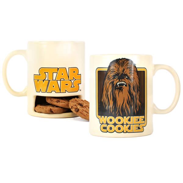 Star Wars Wookie Cookies Mug with Cookie Holder | My Geek Box US