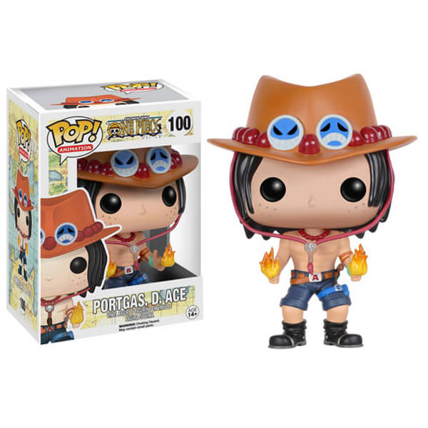 One Piece Portgas D. Ace Pop! Vinyl Figure