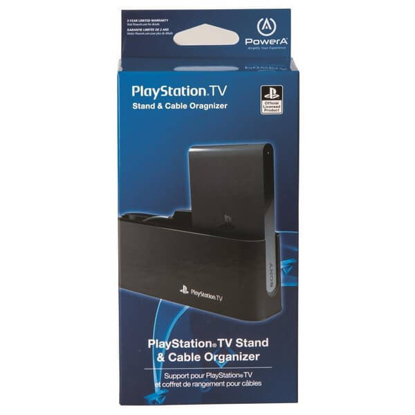 Official Sony Playstation Tv Stand Amp Cable Organiser Games