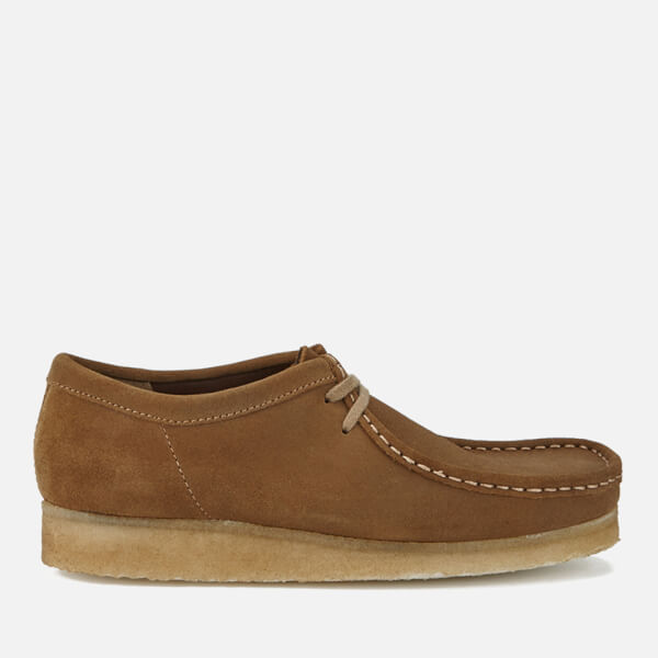 Clarks Men's Wallabee Shoes - Cola Suede - UK 7 NJ3vA