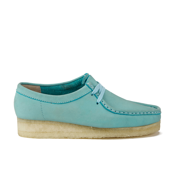 Clarks Originals Women's Wallabee Shoes - Light Blue