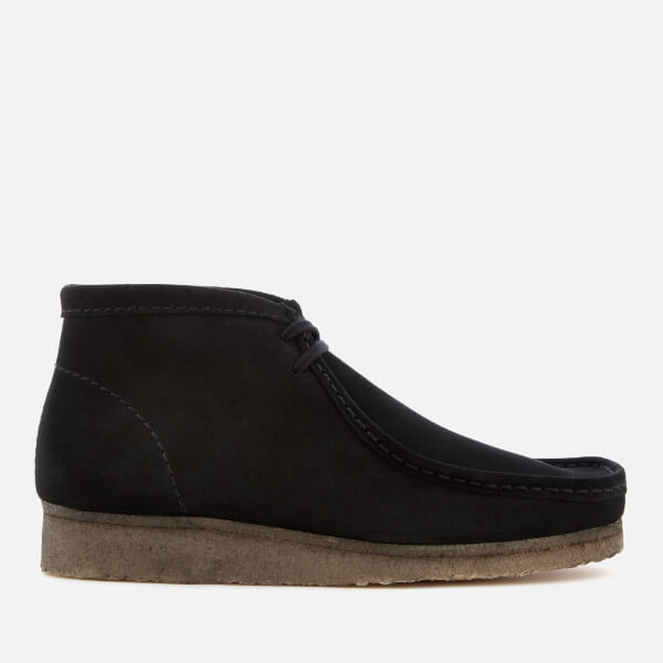 Clarks Originals Men's Wallabee Boots - Black Suede