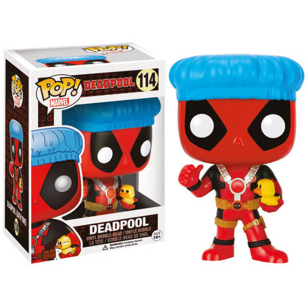 Marvel Deadpool Shower Cap Exclusive Pop! Vinyl Figure
