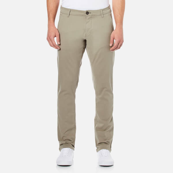 Selected Homme Men's Threeparis Stretch Chino Pants - Greige