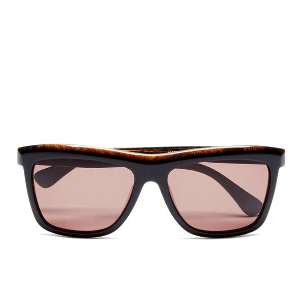 Calvin Klein Women's Platinum Sunglasses - Black Marble