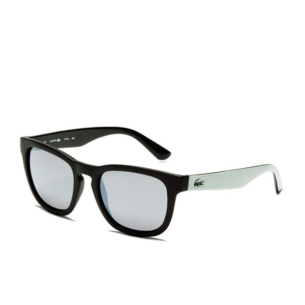007c634e868b Lacoste Unisex Wayfarer Sunglasses - Black Matt  Image 2