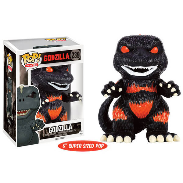 Godzilla Fire Version Limited Edition 6