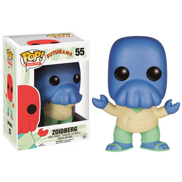 Futurama Alt Universe Limited Edition Blue Zoidberg Pop