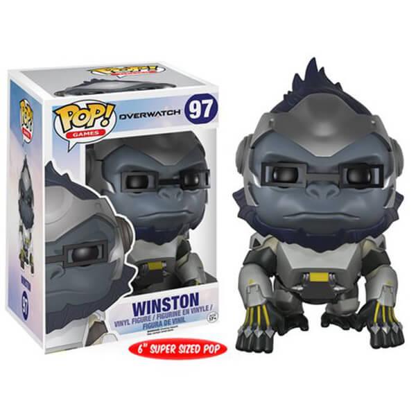 Overwatch Winston 6-Inch Pop! Vinyl Figure