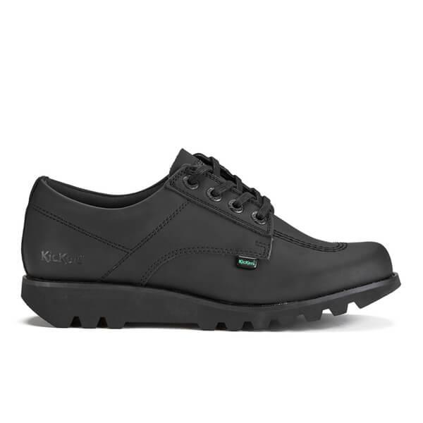 Kickers Men's Kick Lo C Lace Up Shoes - Black