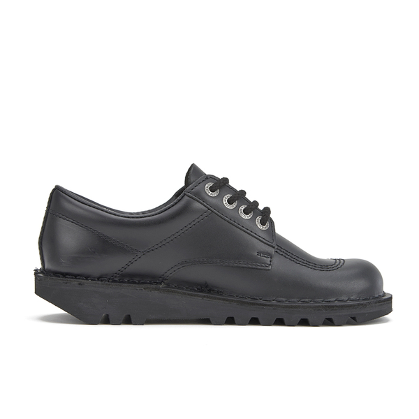 Kickers Women's Kick Lo Lace Up Shoes - Black
