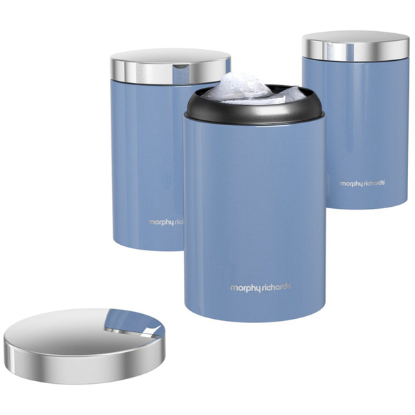 Morphy Richards Kitchen Set: Morphy Richards Kitchen Set - Cornflower Blue