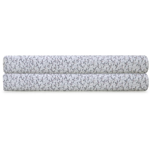 Calvin Klein Afton Dover Fitted Sheet - Multi