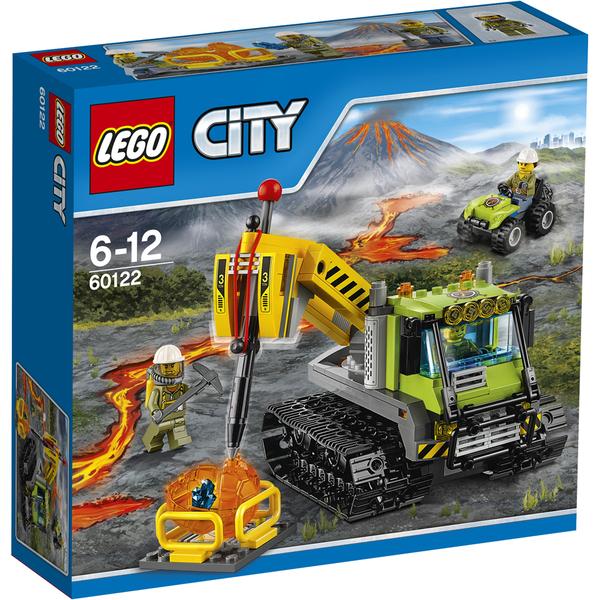 LEGO City: La foreuse à chenilles (60122)