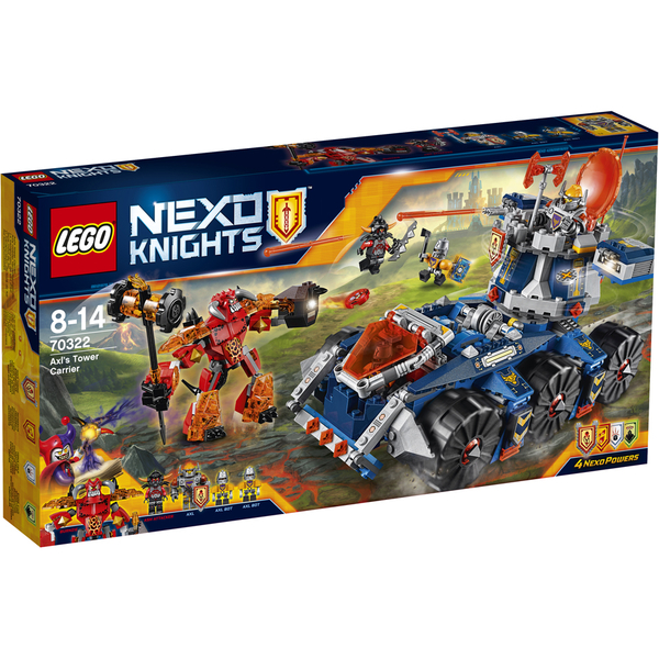 LEGO Nexo Knights: Axl's Tower Carrier (70322)