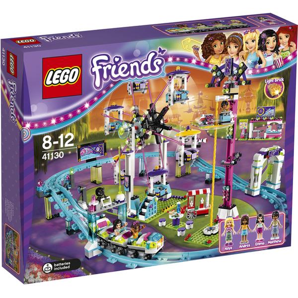 LEGO Friends: Les montagnes russes du parc d'attractions (41130)
