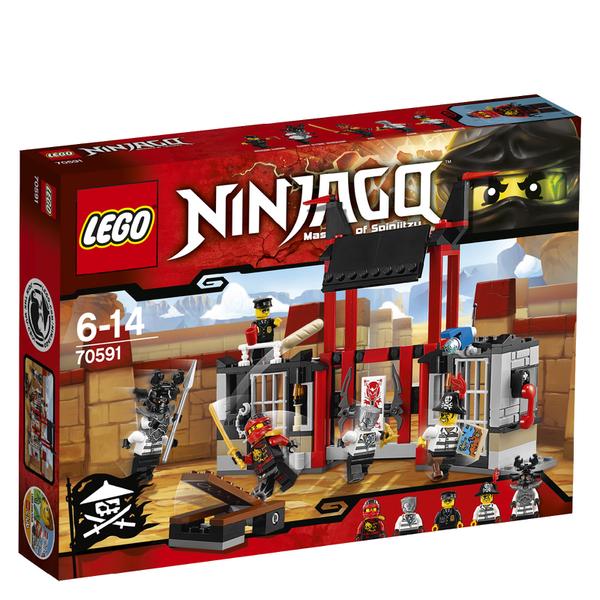 LEGO Ninjago: L'évasion de la prison de Kryptarium (70591)