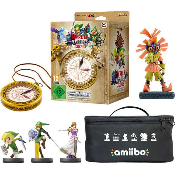 Hyrule Warriors: Legends - Limited Edition amiibo Pack (Link, Toon Link &  Zelda)