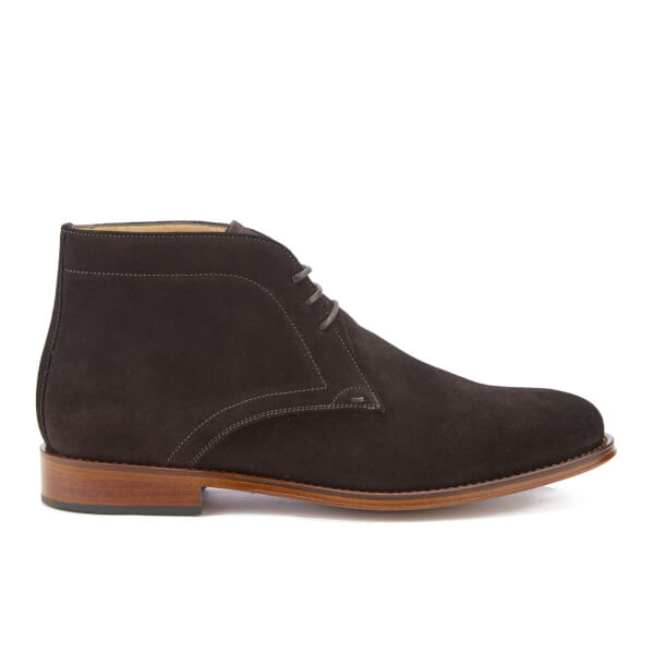 PS by Paul Smith Men's Morgan Suede Desert Boots - Dark Brown