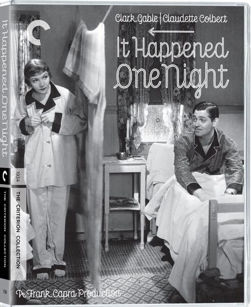 Es Geschah In Einer Nacht Criterion Collection Blu Ray