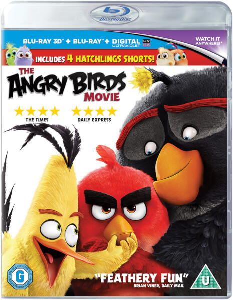 The Angry Birds Movie 3D (Includes 2D Version)