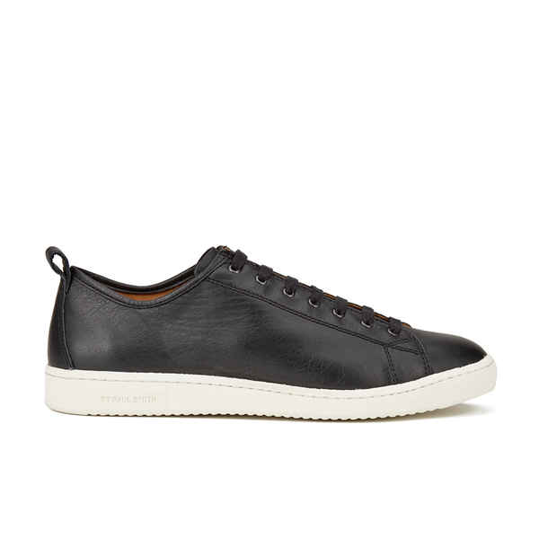 PS by Paul Smith Men's Miyata Leather Trainers - Black Seta Calf