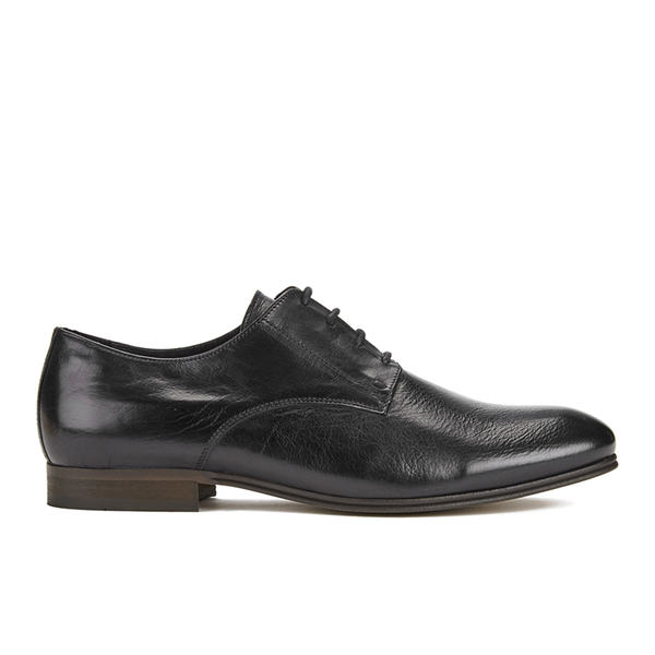Hudson London Men's Champlain Leather Derby Shoes - Black