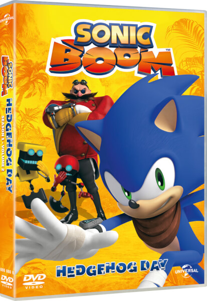 Sonic Boom Volume 2: Hedgehog Day (Includes Free Sticker Sheet)