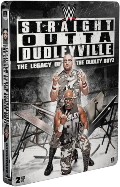 WWE: Straight Outta Dudleyville - The Legacy Of The Dudley Boyz (Steelbook Édition Limitée)