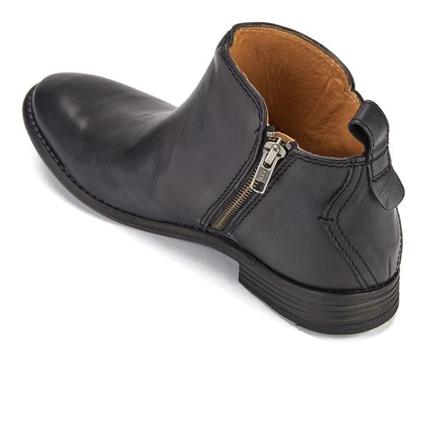 Hudson London Women s Revelin Leather Ankle Boots - Black Womens ... 930e86b45