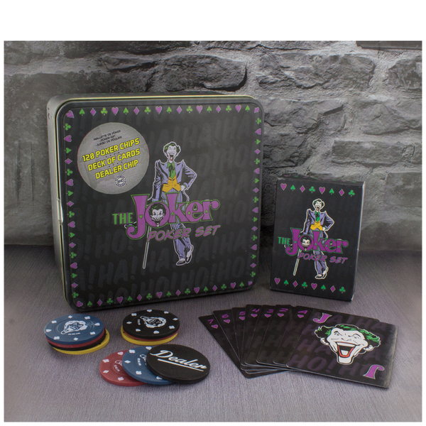 Dc Comics The Joker Poker Set Iwoot