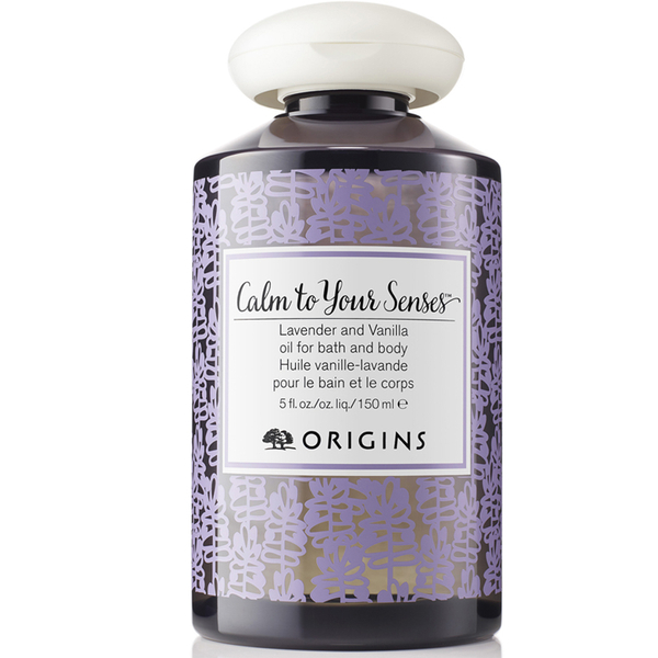 Origins Calm To Your Senses Lavender and Vanilla Oil for Bath & Body 150ml