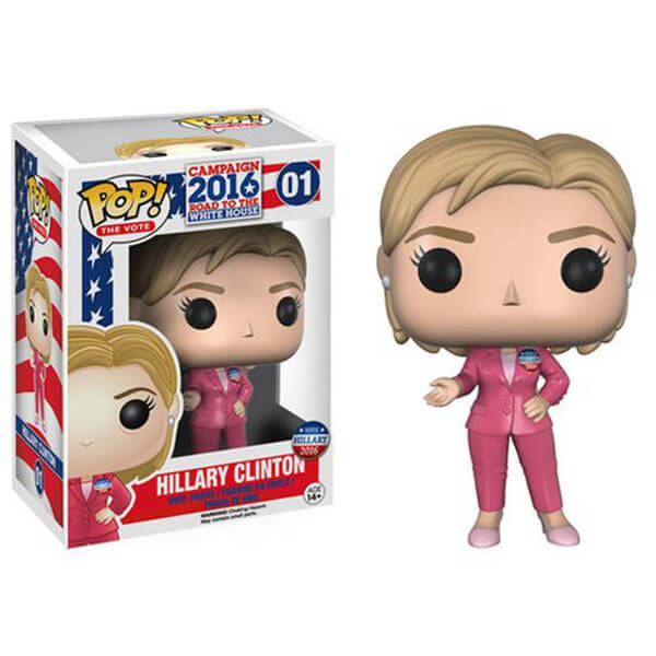 Hillary Clinton Pop! Vinyl Figure