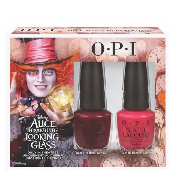 OPI Alice In Wonderland Nail Varnish Collection - Mad Hatter Duo ...