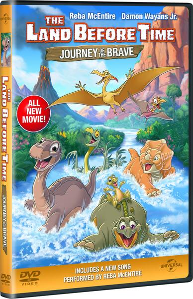 The Land Before Time Journey Of The Brave Dvd Zavvi