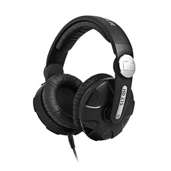 Sennheiser HD 215-II Over-Ear Headphones - Black Electronics | Zavvi