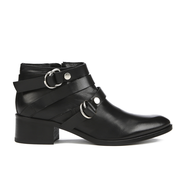 McQ Alexander McQueen Women's Ridley Harness Ankle Boot - Black
