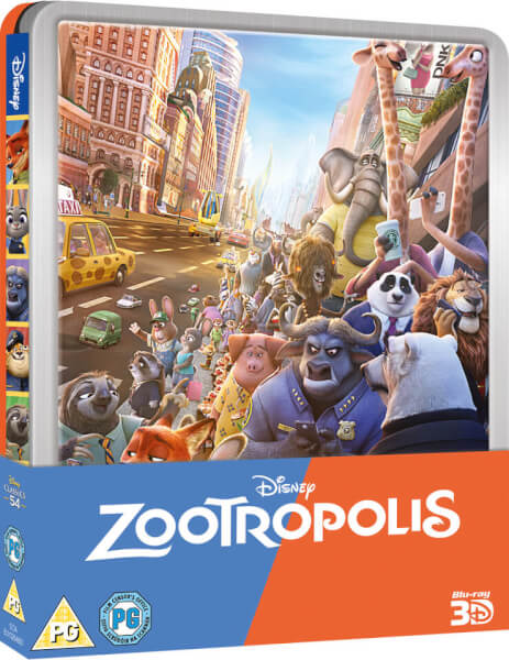 Zootropolis 3D (Includes 2D Version) - Limited Edition Steelbook