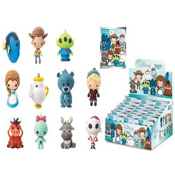 Disney Series 5 Figural 3-D Foam Key Chain