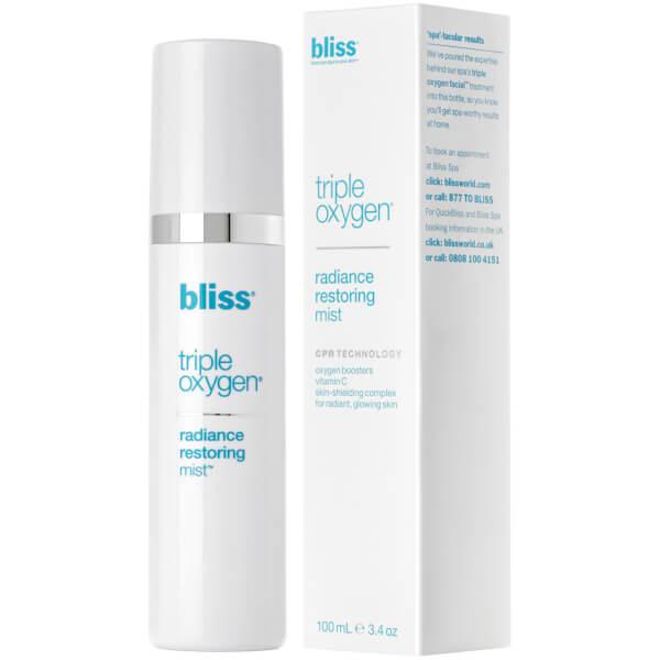 bliss Triple Oxygen Radiance Restoring Mist