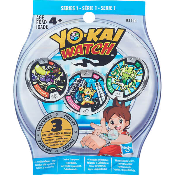 YO-KAI WATCH Medal Mystery Bag - Series 1