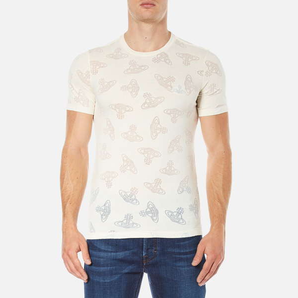 Vivienne Westwood Anglomania Men's Time Machine T-Shirt - Beige
