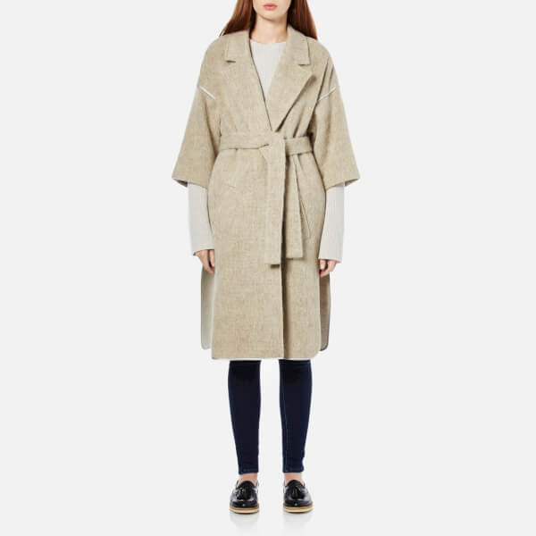 By Malene Birger Women's Asana Coat - Wood