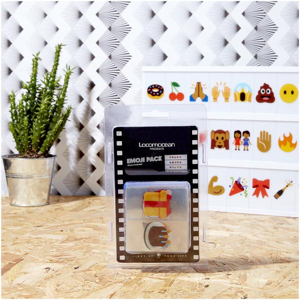 lot de lettres pour lightbox emoji traditional gifts. Black Bedroom Furniture Sets. Home Design Ideas