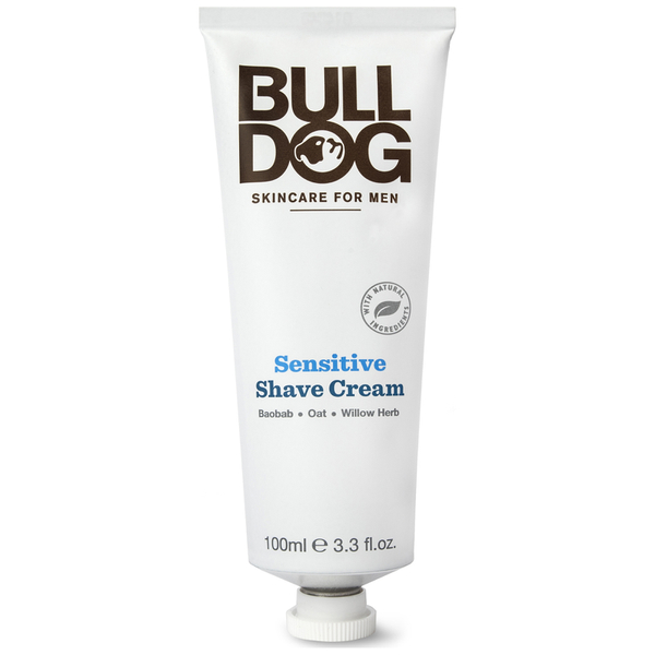 Crema de Afeitar Sensible de Bulldog 100 ml
