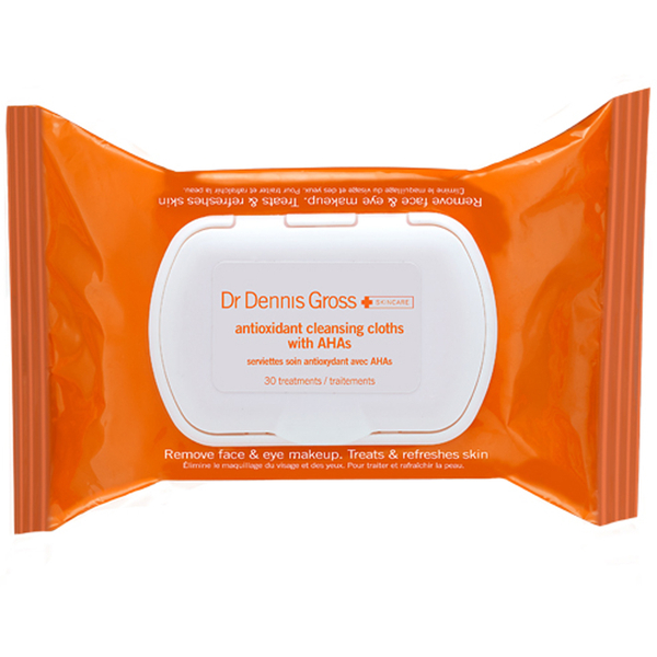 Dr Dennis Gross Antioxidant Cleansing Cloths (30 Applications)