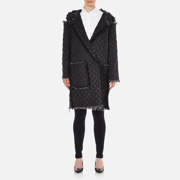 Vivienne Westwood Anglomania Women's Radio Coat - Black